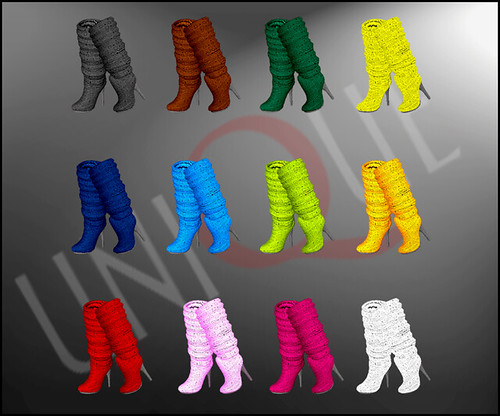 Unique - Boots (texture 80's) - (30L) | Flickr - Photo Sharing!: https://www.flickr.com/photos/mababyburnersl/3531538030