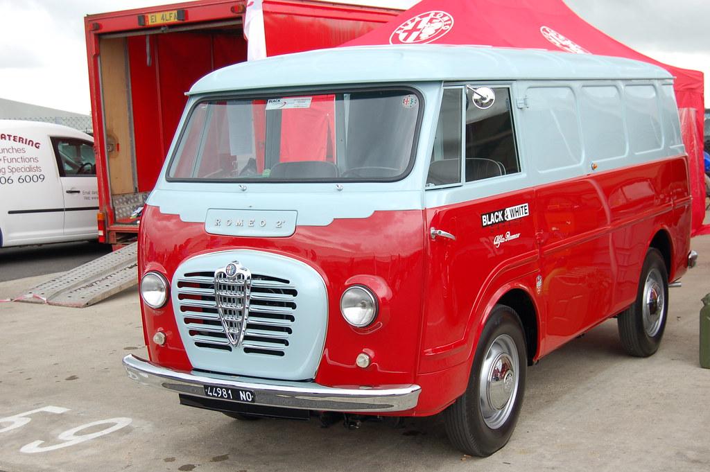 Alfa Romeo Van Romeo 2 Does Juliet Know Dave Hodson