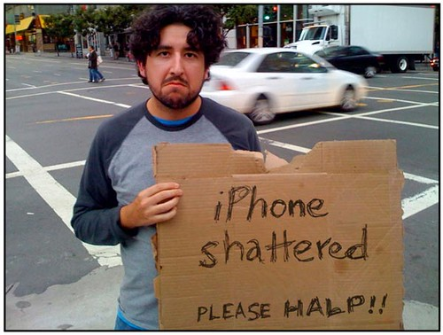 My iPhone Shattered! | by Photo Giddy