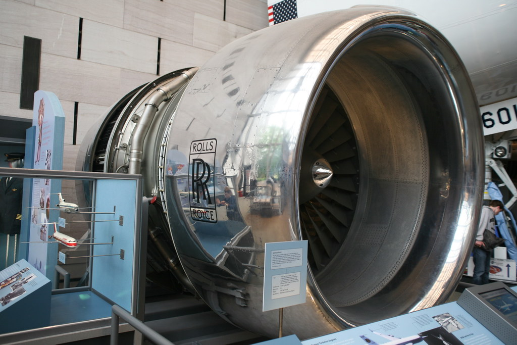 Rolls Royce White >> Rolls-Royce RB211-22 Turbofan Engine | This is the first for… | Flickr