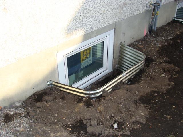 basement windows basement window enlarging including concr