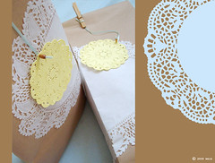 doily tags | by design.mein