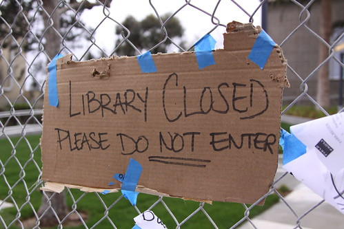 Library Closed | by bigoteetoe