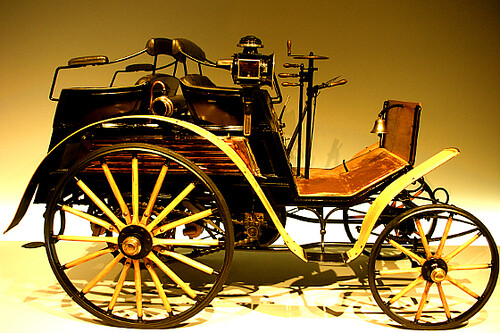 First mercedes car ever ever stuttgart germany for Who invented the mercedes benz