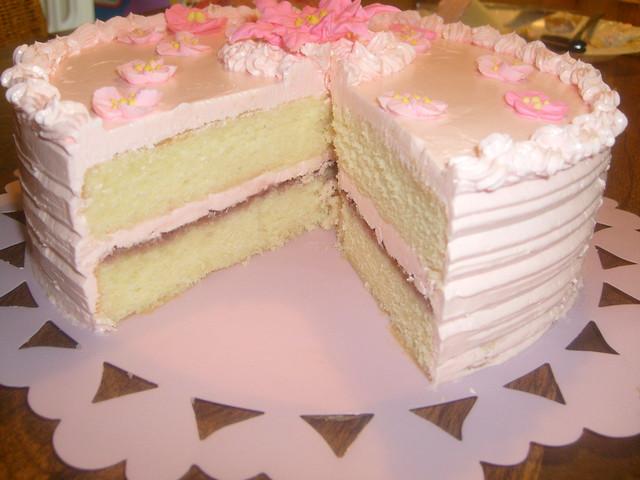 Raspberry and White Chocolate Buttercream Cake | Raspberry a ...
