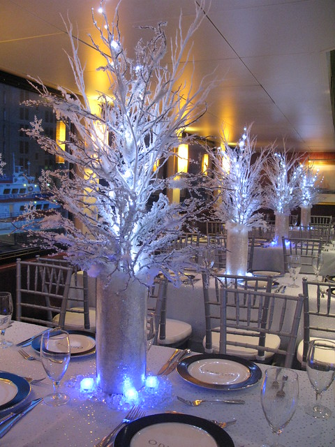 Winter theme centerpiece flickr photo sharing
