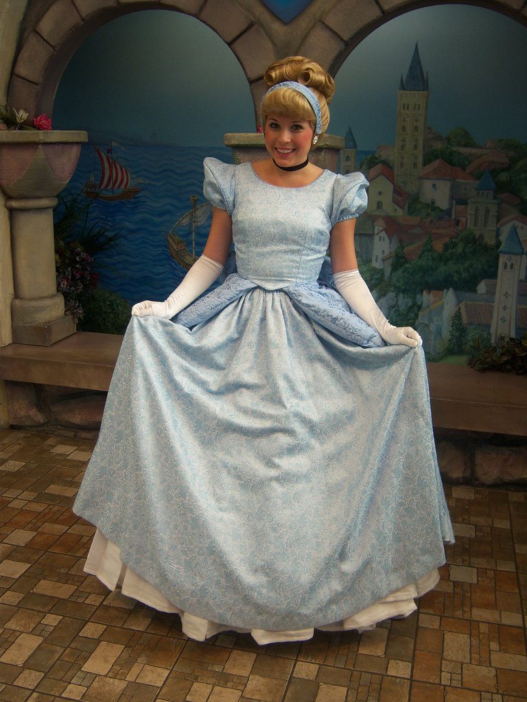 Cinderella at Disney Princess Fantasy Faire