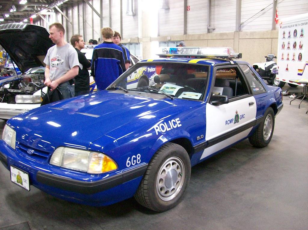 1991 RCMP SSP Mustang LX | One of 4 used in Alberta | Flickr