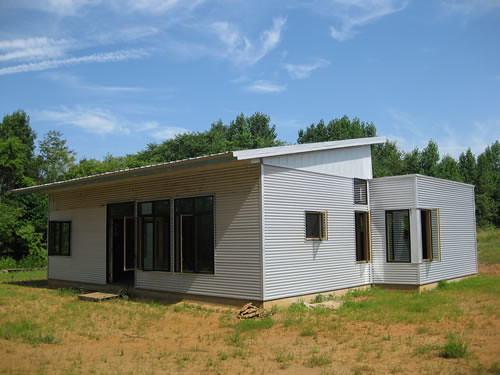 Passive House Kit Passive Solar House Kit Overhangs