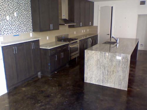 Modern granite countertop modern granite kitchen counterto flickr - Modern luxury kitchen with granite countertop ...