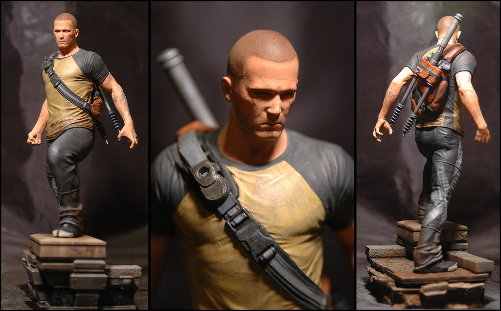 Cole MacGrath statue: Cole Final Paint | inFAMOUS 2 Hero ...