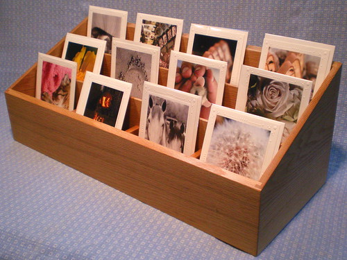 greeting card display ideas craft shows greeting card display rack in oak flickr photo 7750