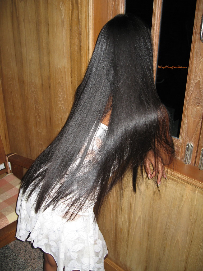 Bend Over Baby  Thai Long Hair Bending Over  The Pope -9271