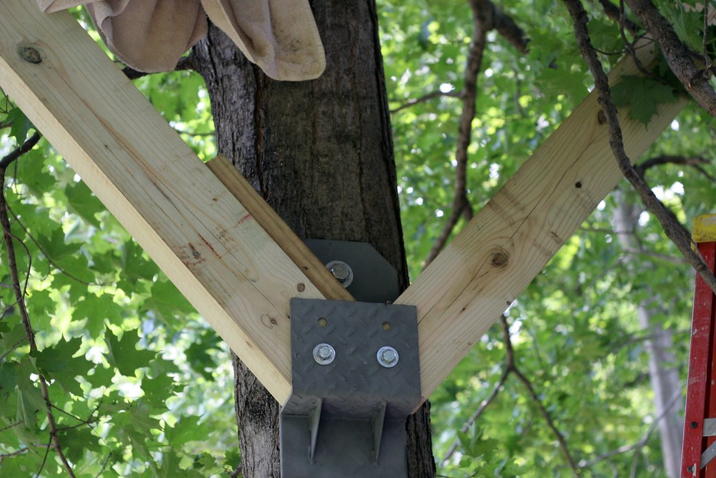 Big Treehouse-Big Brackets   211:365   Jane   Flickr