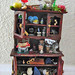 Wizened Wizard Enchanted Cabinet Miniature Dollhouse Scale