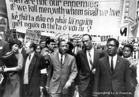 Chicago Vietnam War March Image One