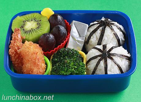 Fried shrimp bento lunch for preschooler | by Biggie*