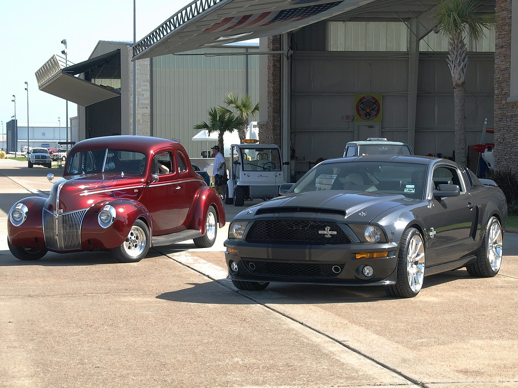 1940 Ford Deluxe Coupe V8 Amp 2008 Ford Mustang GT500 Shelby