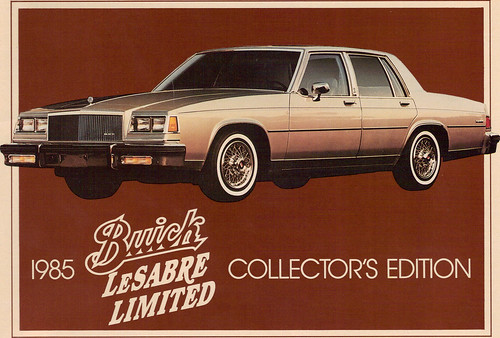 Fff Eb on 1985 Buick Lesabre Limited Collectors Edition