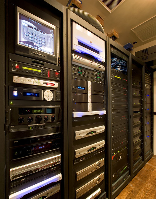Home Automation And Theater Equipment Room A Total Of 5