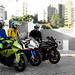 BMW S1000RR and Yamaha R1