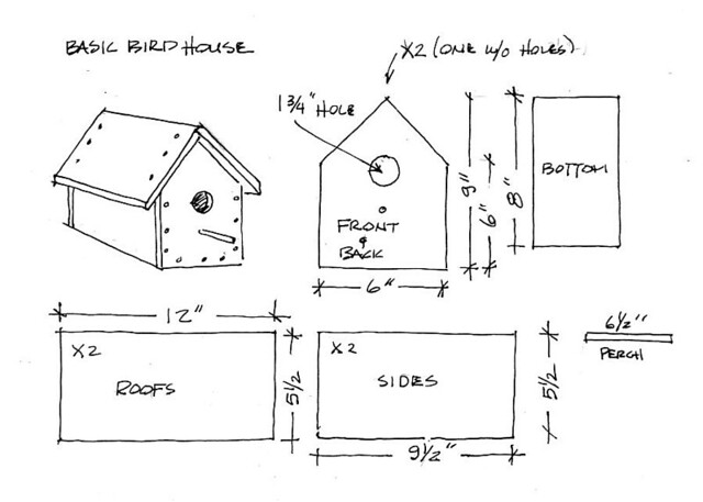 Outstanding Small Bird House Plans Photos - Best Image Engine ...