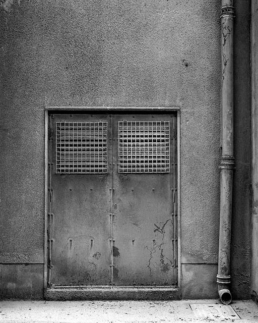 ... Cork Docklands   Flour Door | By Mark Tracey