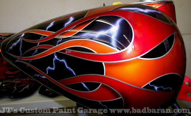 Custom Motorcycle Paint Supplies
