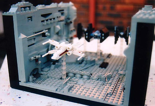 Lego Death Star Trench Run | by thewamphyri