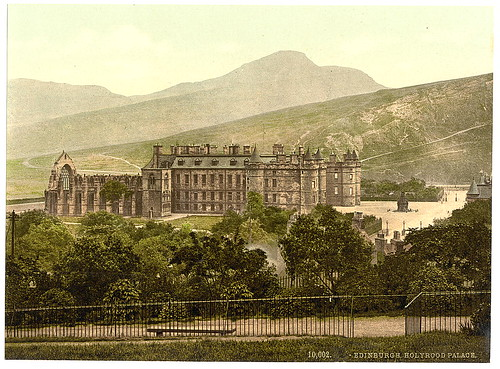 [Holyrood Palace, Edinburgh, Scotland] (LOC) | by The Library of Congress