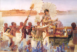 The Finding of Moses, 1904. | by Sir Lawrence Alma-Tadema