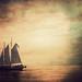 textured sailboat