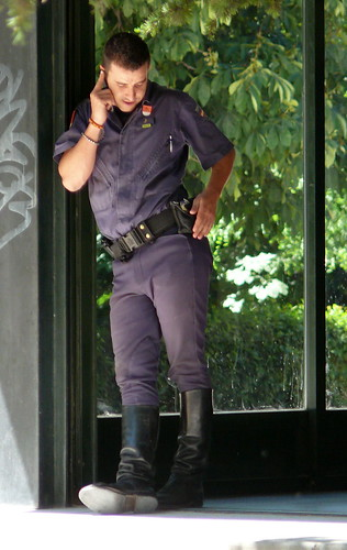 Galleries gay cops in leather first time