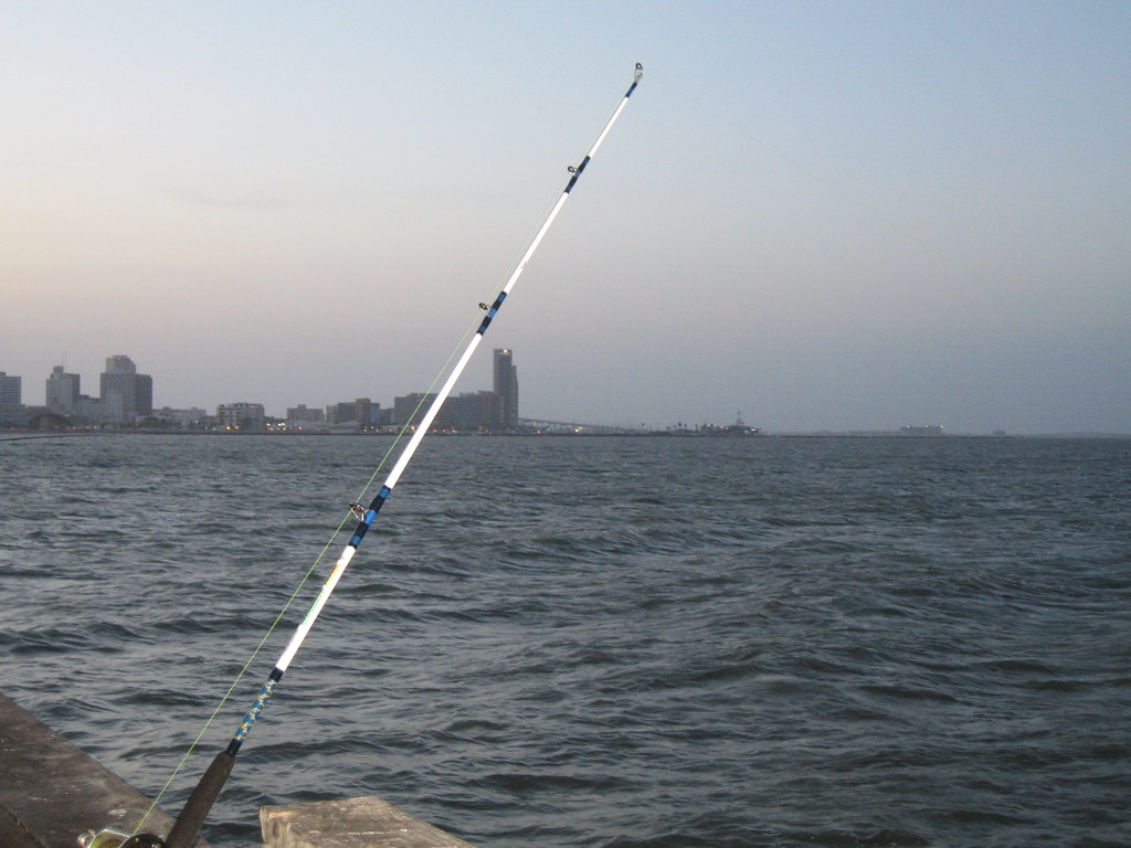 Fishing rod corpus christi tx charlie gza flickr for Corpus christi fishing report