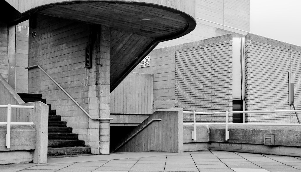 Brutalism Royal National Theatre London Ben Bodien