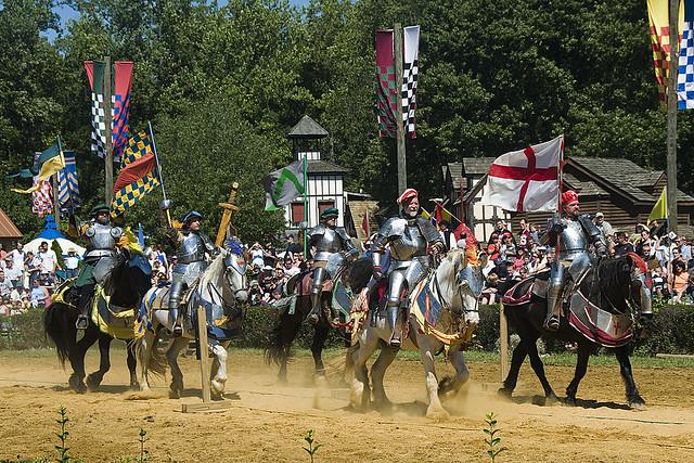 Maryland Renaissance Festival 2008  King39s Field Jousting