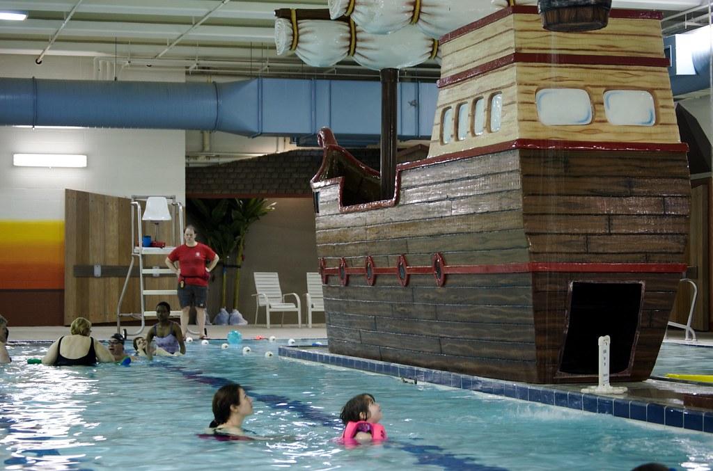 Weyerhaeuser King County Aquatics Center Pirate Ship At