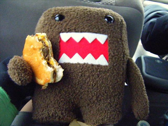 x domo monster domo loves burgers lol cheyenne morning star