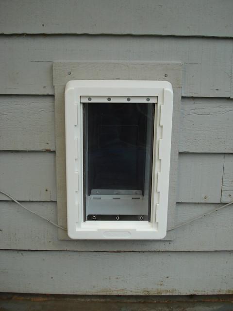Pet Door Exterior Flickr Photo Sharing