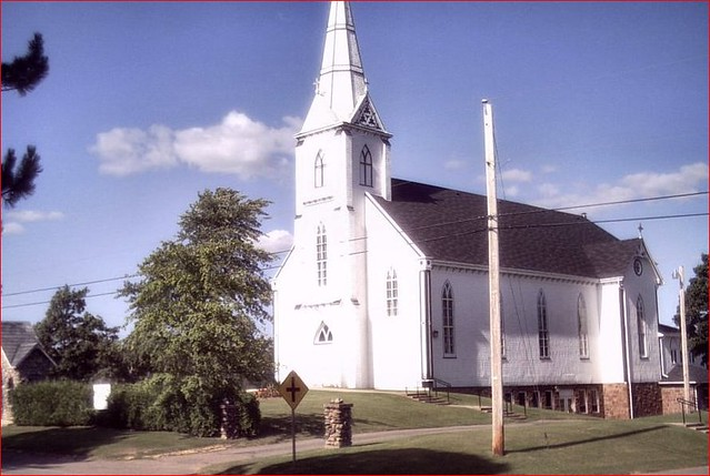 Scenic Church Cardigan Prince Edward Island Canada Flickr