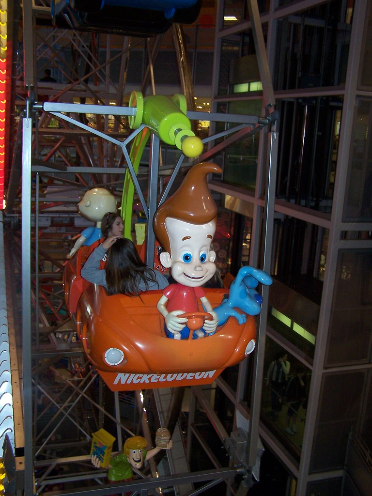Jimmy Neutron The Ferris Wheel Ride At Toys R Us And One