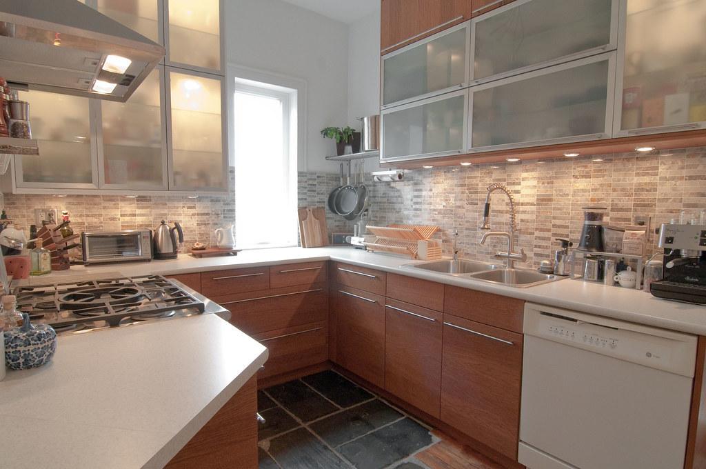 White Marble Kitchen Cart