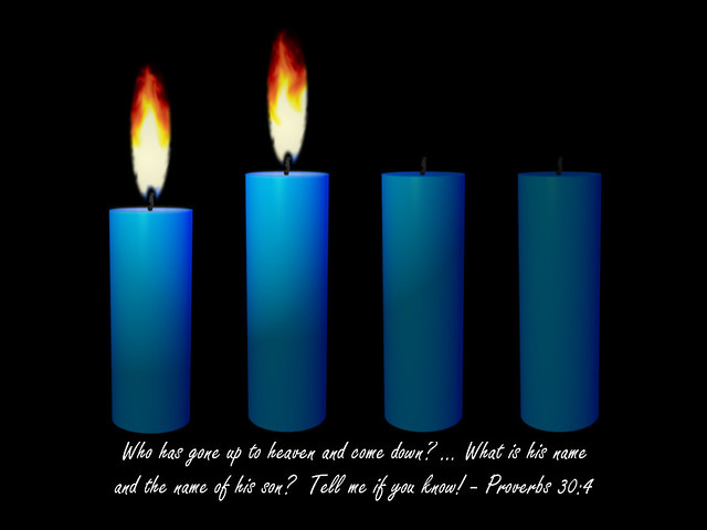Advent Candle Week 2 | Religious clipart | WELS net | Flickr