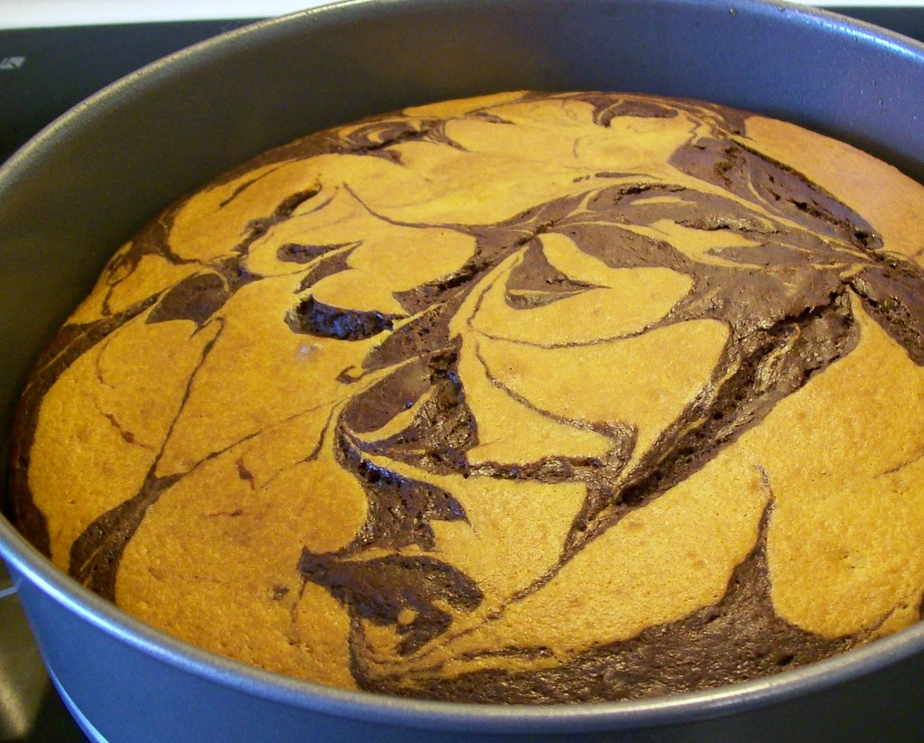 Banana Marble Cake This Was My Invention For My Friend
