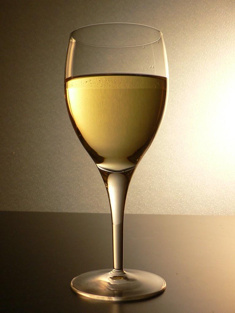 Caliries In Glass Of Fiano Romano
