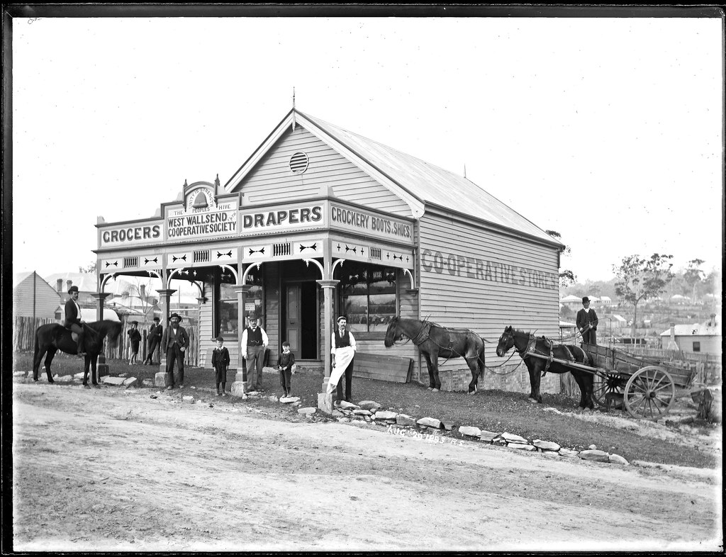 The Co Operative Store West Wallsend Nsw 29 August 1895