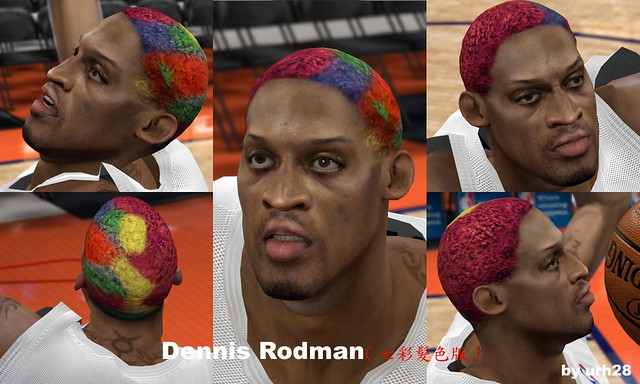 Dennis Rodman Color Hair Urh28 Flickr