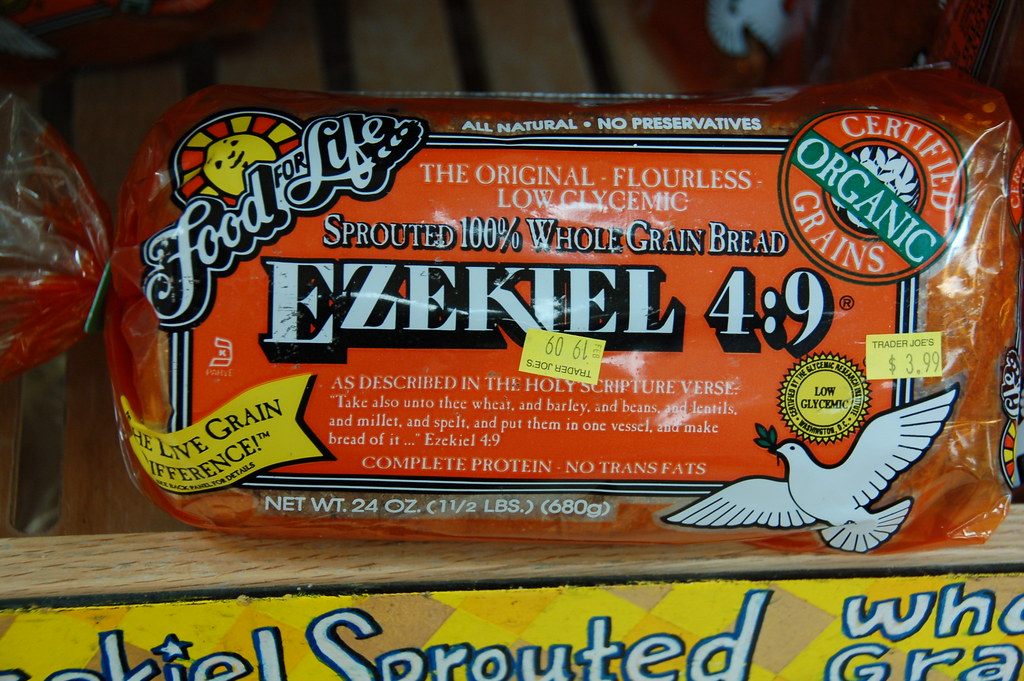 Is Ezekiel bread organic?