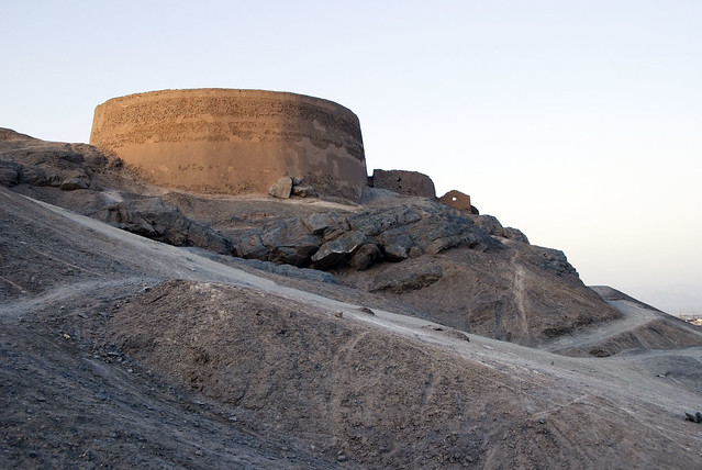 Zoroastrian Tower of Silence | Flickr - Photo Sharing!