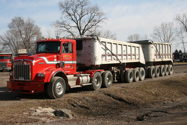 Tractor Trailer Games >> Kenworth gravel hauler | Explore RickM2007's photos on Flic… | Flickr - Photo Sharing!
